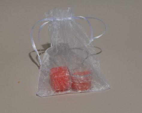 lip scrub and lip balm, bubble gum flavor $ 4.99